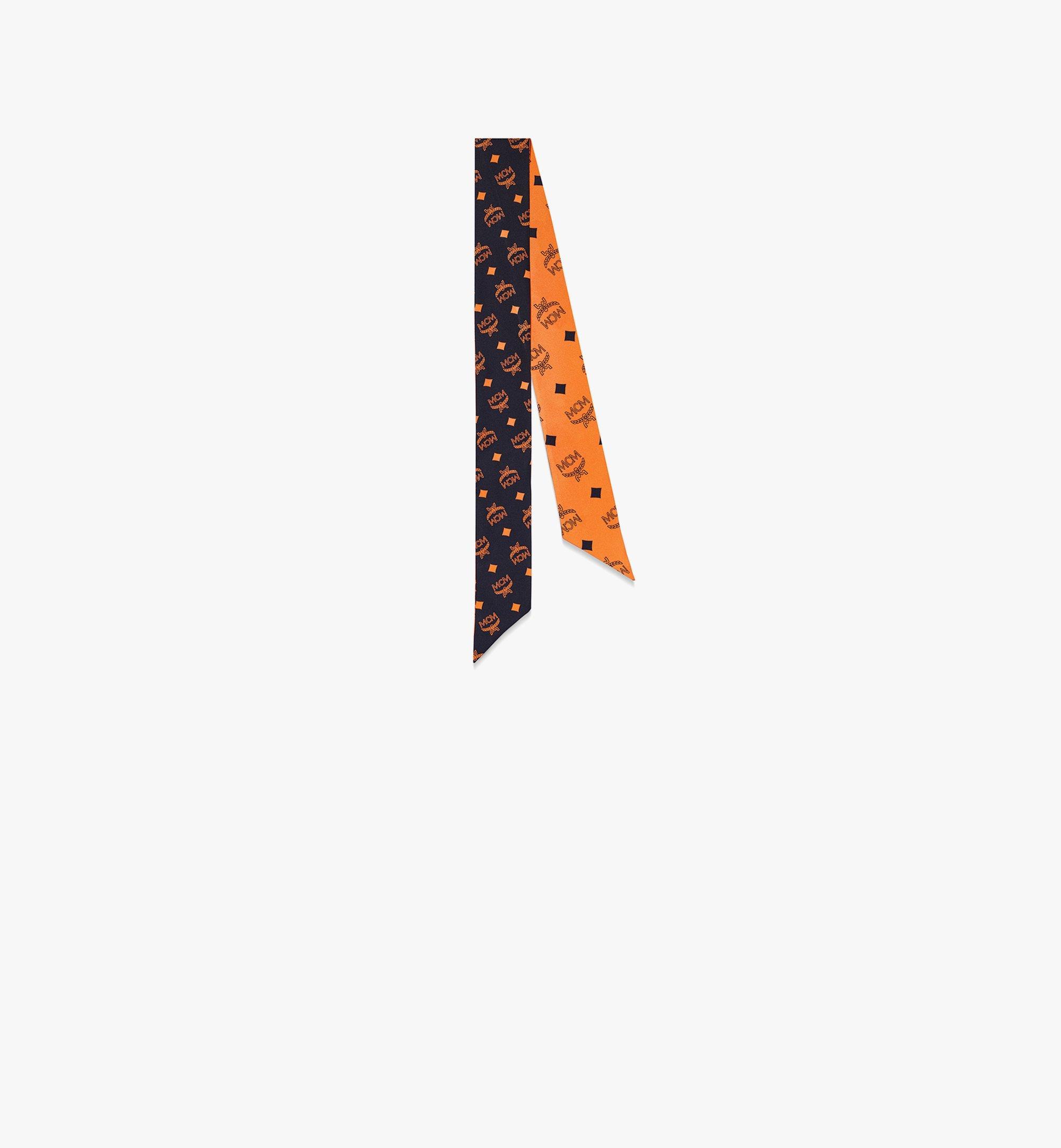MCM Seidentuch mit Monogramm Orange MEFBSMM12O9001 Noch mehr sehen 1