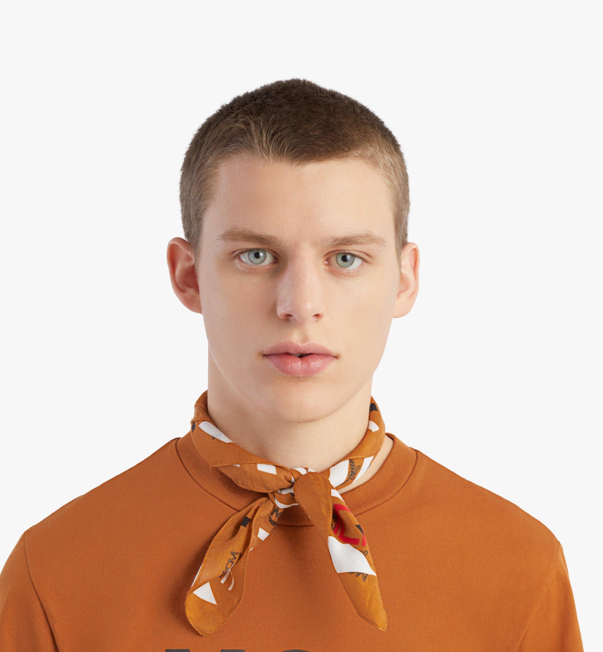 MCM Geo 塗鴉頭巾 Brown MEFBSSX03N4001 更多視圖 2