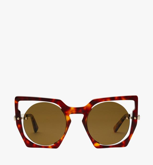 Round Cut Out Sunglasses