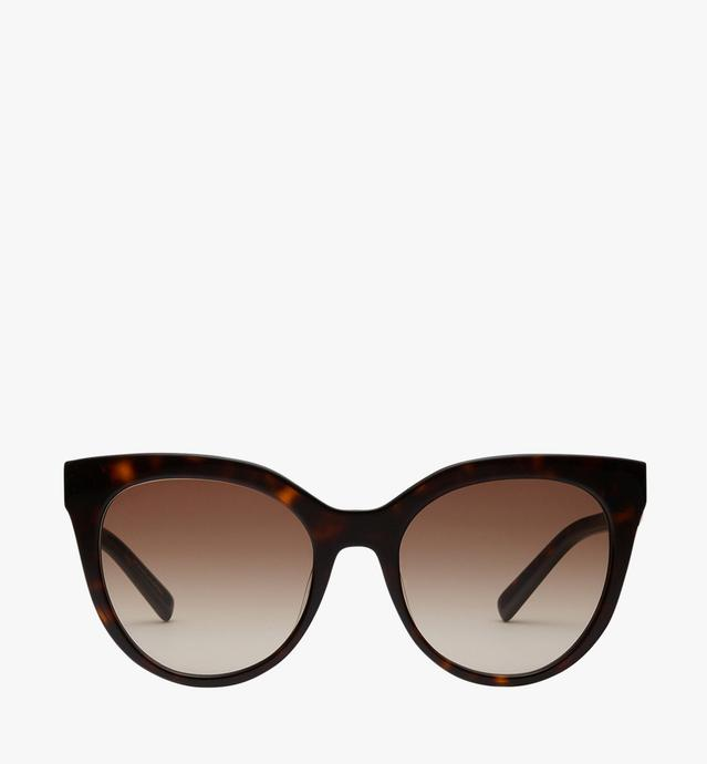 Cat Eye Logo Plaque Sunglasses
