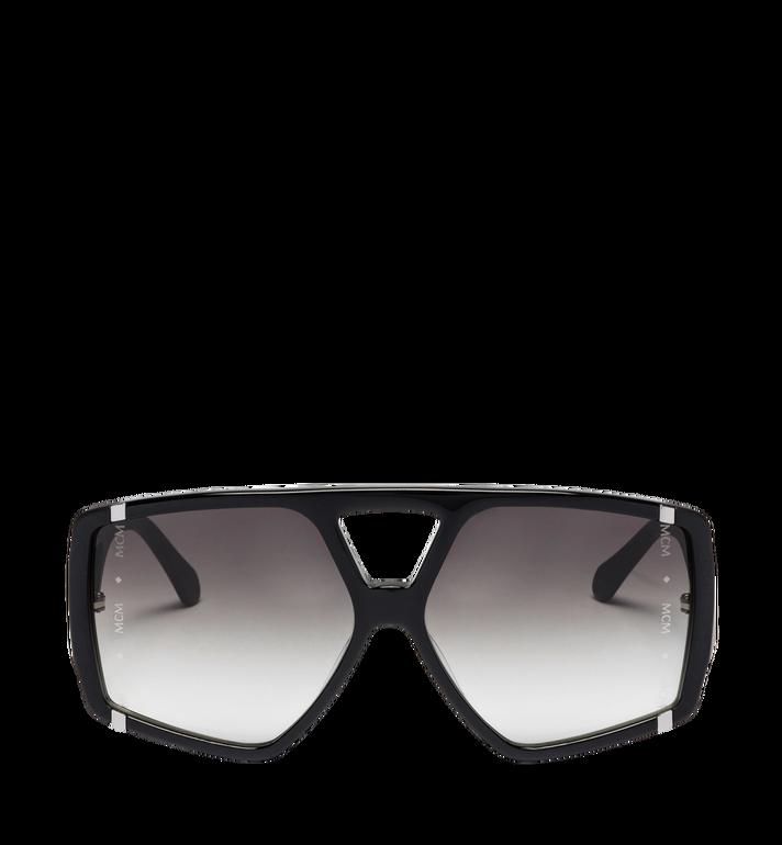 MCM Quadratische Sonnenbrille mit Logo MEG8A2I01BK001 AlternateView