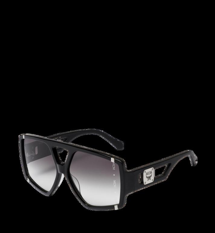 MCM Quadratische Sonnenbrille mit Logo MEG8A2I01BK001 AlternateView2