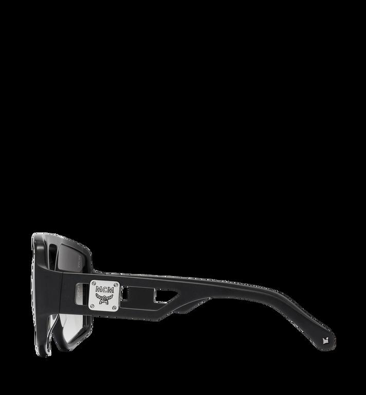 MCM Quadratische Sonnenbrille mit Logo MEG8A2I01BK001 AlternateView3
