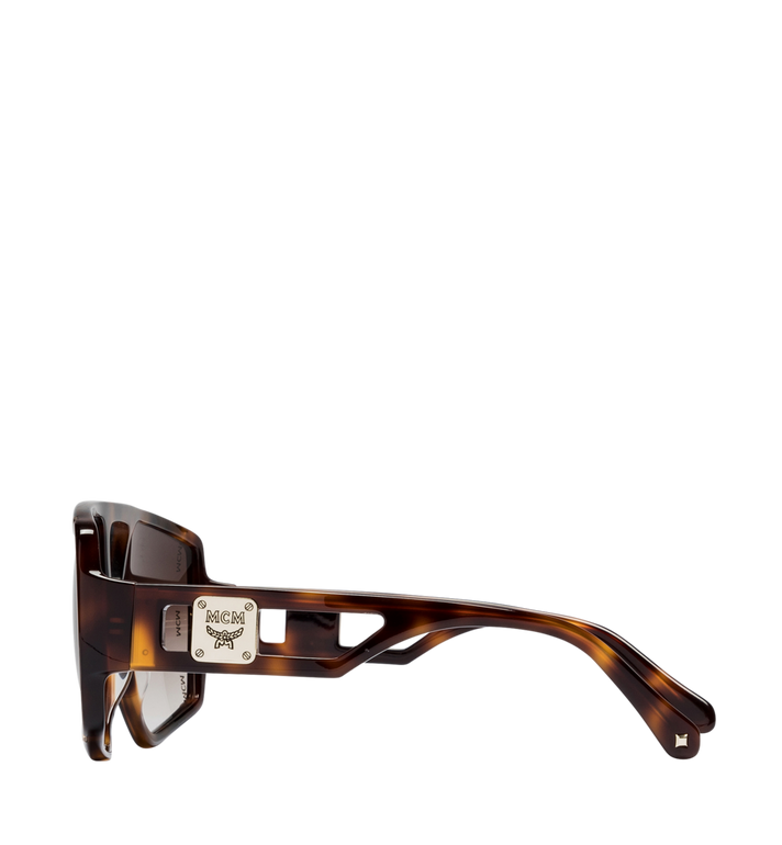 MCM Square Logo Plaque Sunglasses Alternate View 3