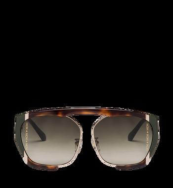 MCM Squared Aviator Sunglasses MEG8A2I09GO001 AlternateView