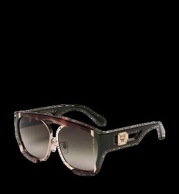 MCM Squared Aviator Sunglasses MEG8A2I09GO001 AlternateView2