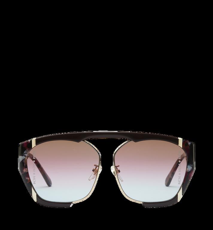 MCM Squared Aviator Sunglasses MEG8A2I09RW001 AlternateView