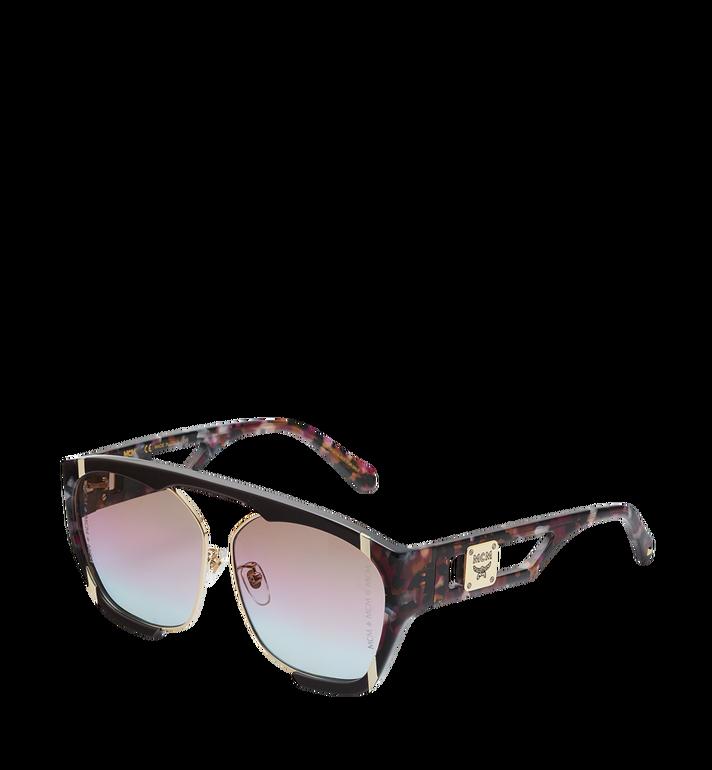 MCM Squared Aviator Sunglasses MEG8A2I09RW001 AlternateView2