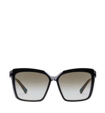 MCM Square Oversized Sunglasses MEG8S2I06BK001 AlternateView