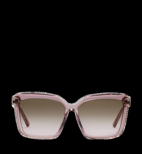 Quadratische Oversize-Sonnenbrille