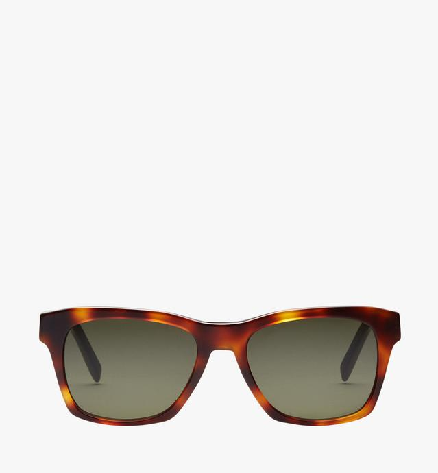 Rectangular Logo Plaque Sunglasses