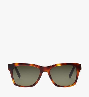Rectangular Logo Plaque Sunglasses