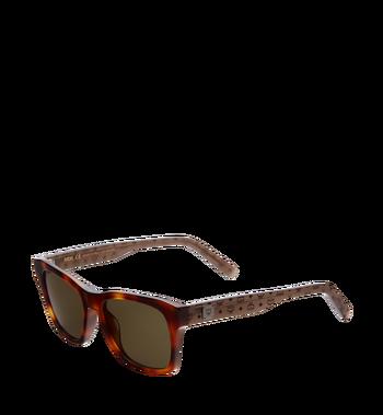 MCM Rectangular Logo Plaque Sunglasses Alternate View 2