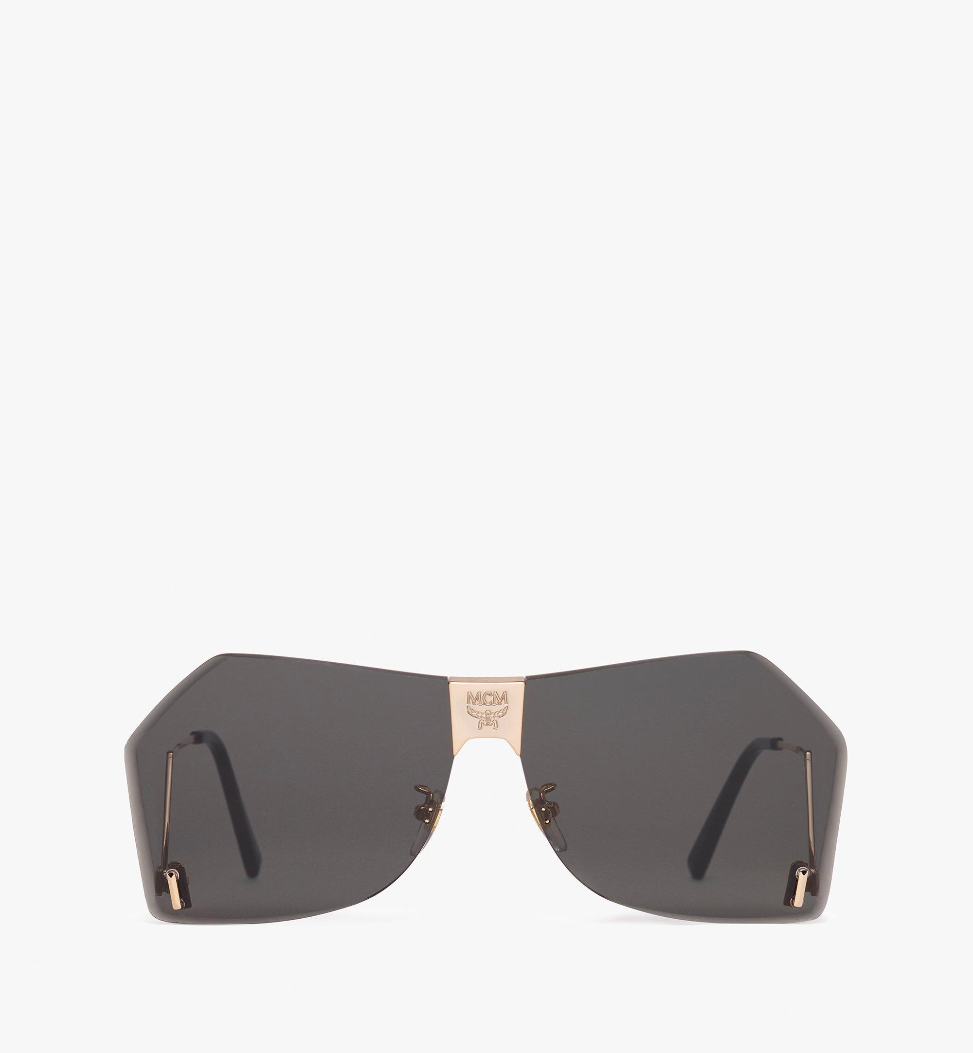 MCM Geometric Oversized Sunglasses Grey MEG9A2I03ED001 Alternate View 1