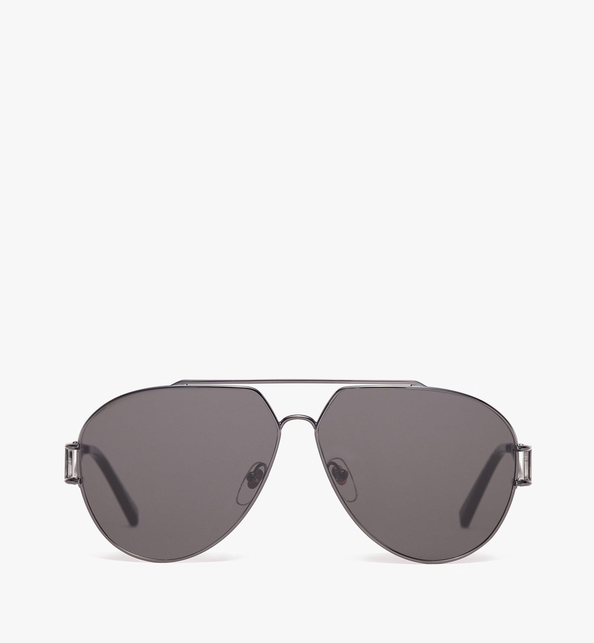 MCM Aviator Sunglasses Grey MEG9A2I04EG001 Alternate View 1