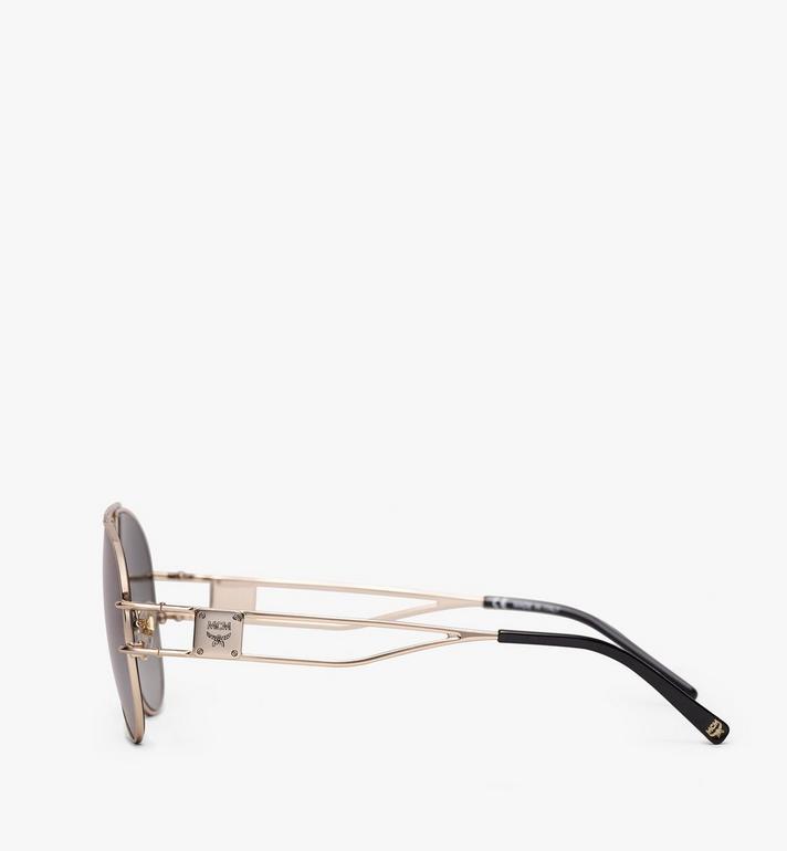 MCM Aviator Sunglasses Gold MEG9A2I04GK001 Alternate View 2
