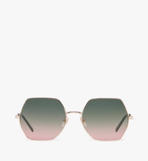 Geometric Oversized Sunglasses