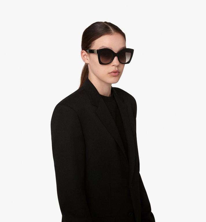 MCM Oversized Cat Eye Sunglasses  MEG9A2I07BK001 Alternate View 4