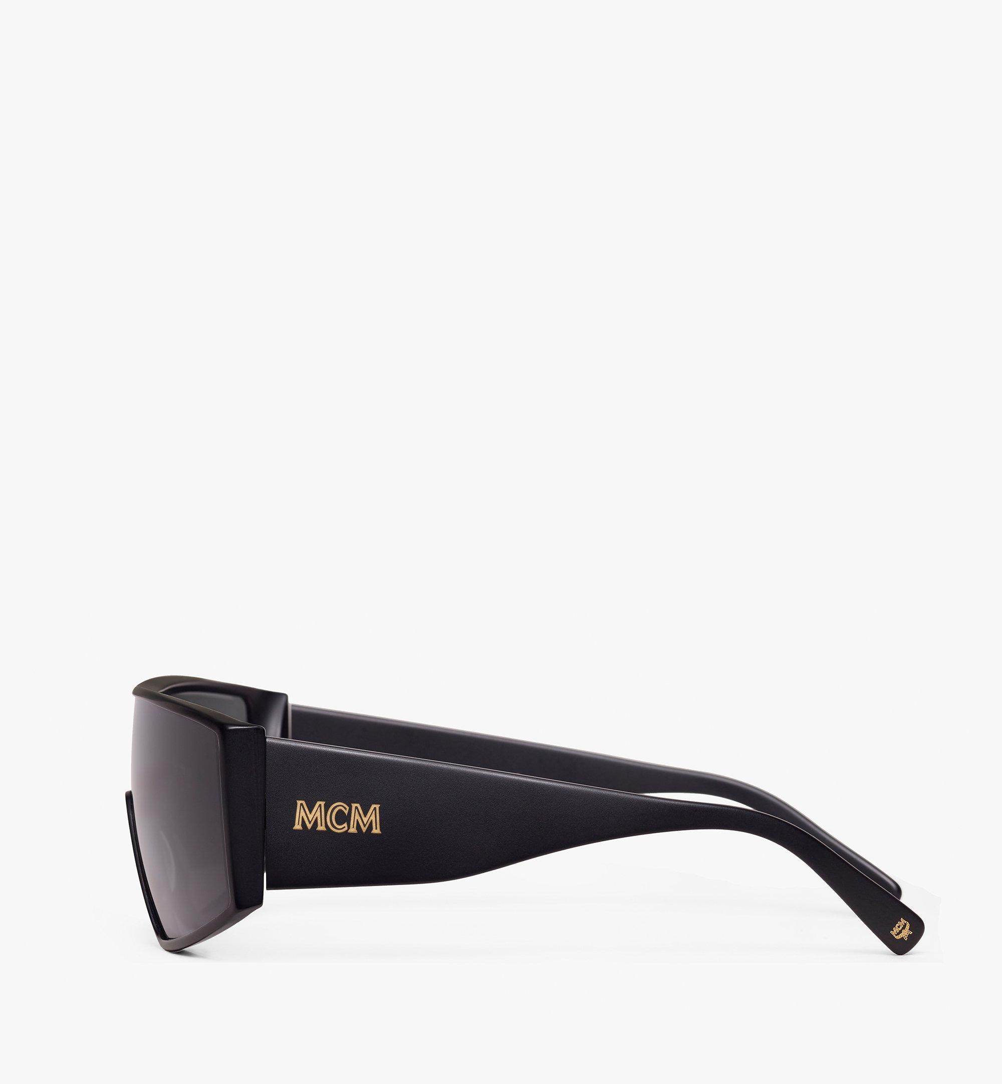 MCM Shield Sunglasses Black MEG9A2I11BK001 Alternate View 1