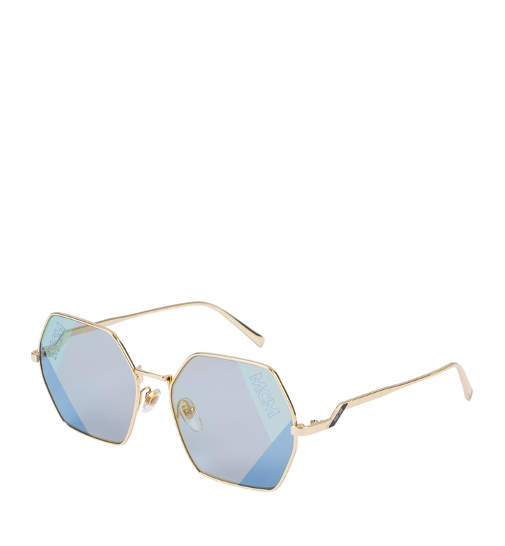 MCM Sonnenbrille in achteckiger Form  MEG9S2I02LU001 Alternate View 2