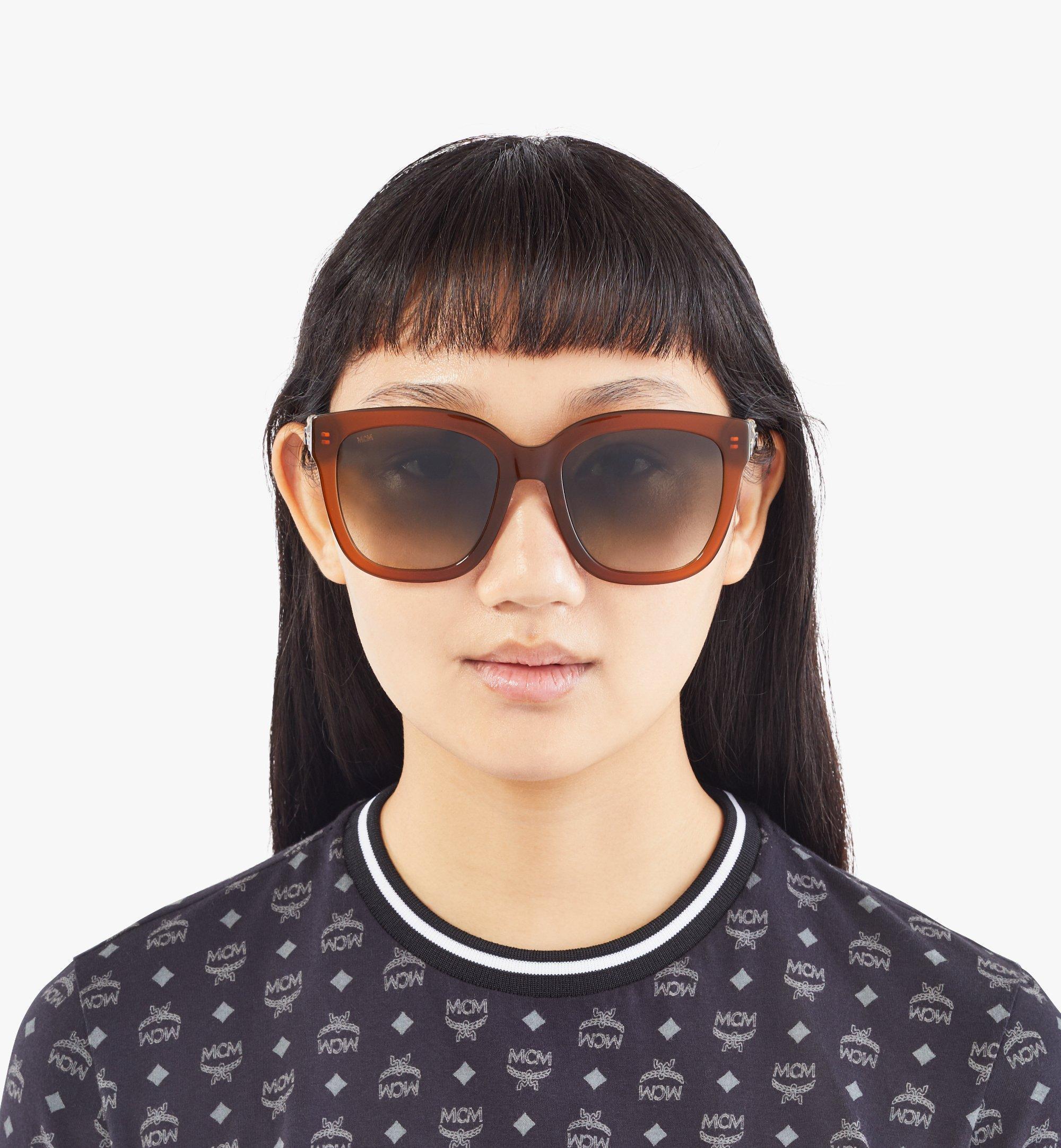 MCM Women's 697SLA Butterfly Sunglasses  MEGAAMM01N4001 Alternate View 3