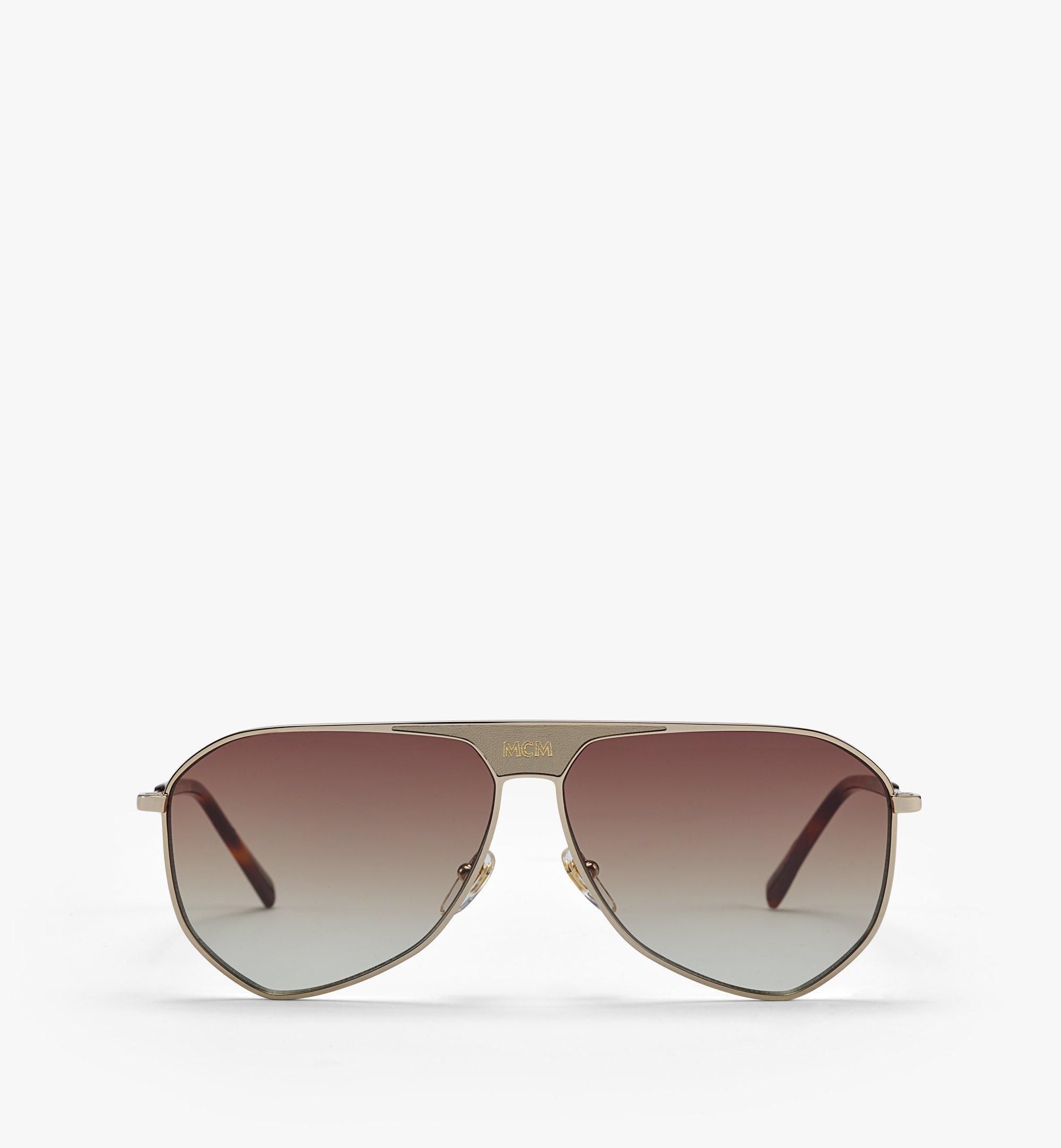 MCM Men's 149SL Aviator Sunglasses  MEGAAMM10DG001 Alternate View 1