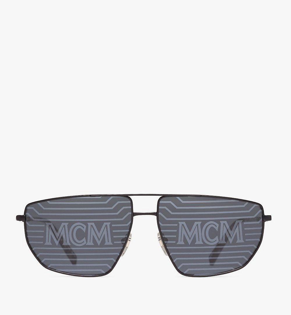 MCM 151S Hologram Aviator Sunglasses Black MEGAAMM11B2001 Alternate View 1