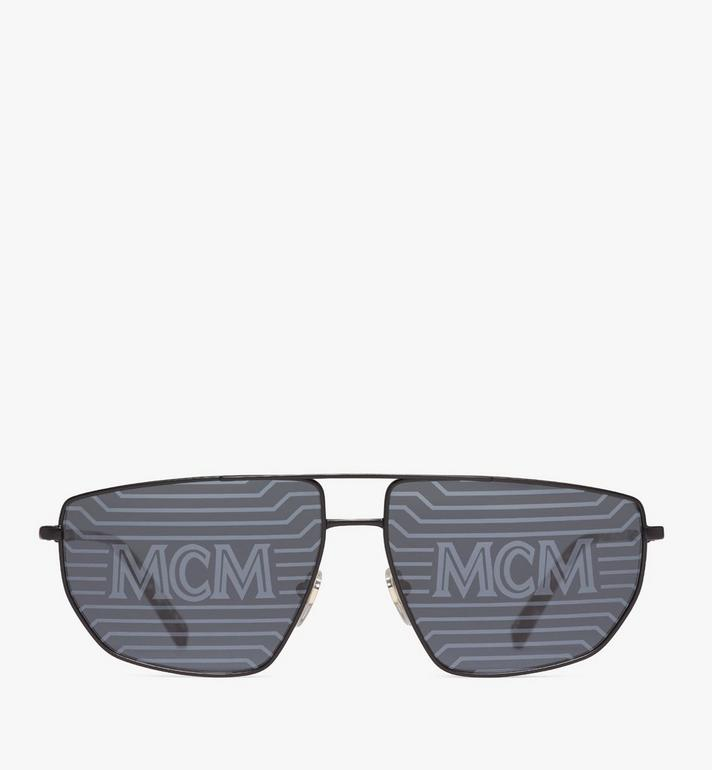 MCM 151S Hologram Aviator Sunglasses Black MEGAAMM11B2001 Alternate View 1