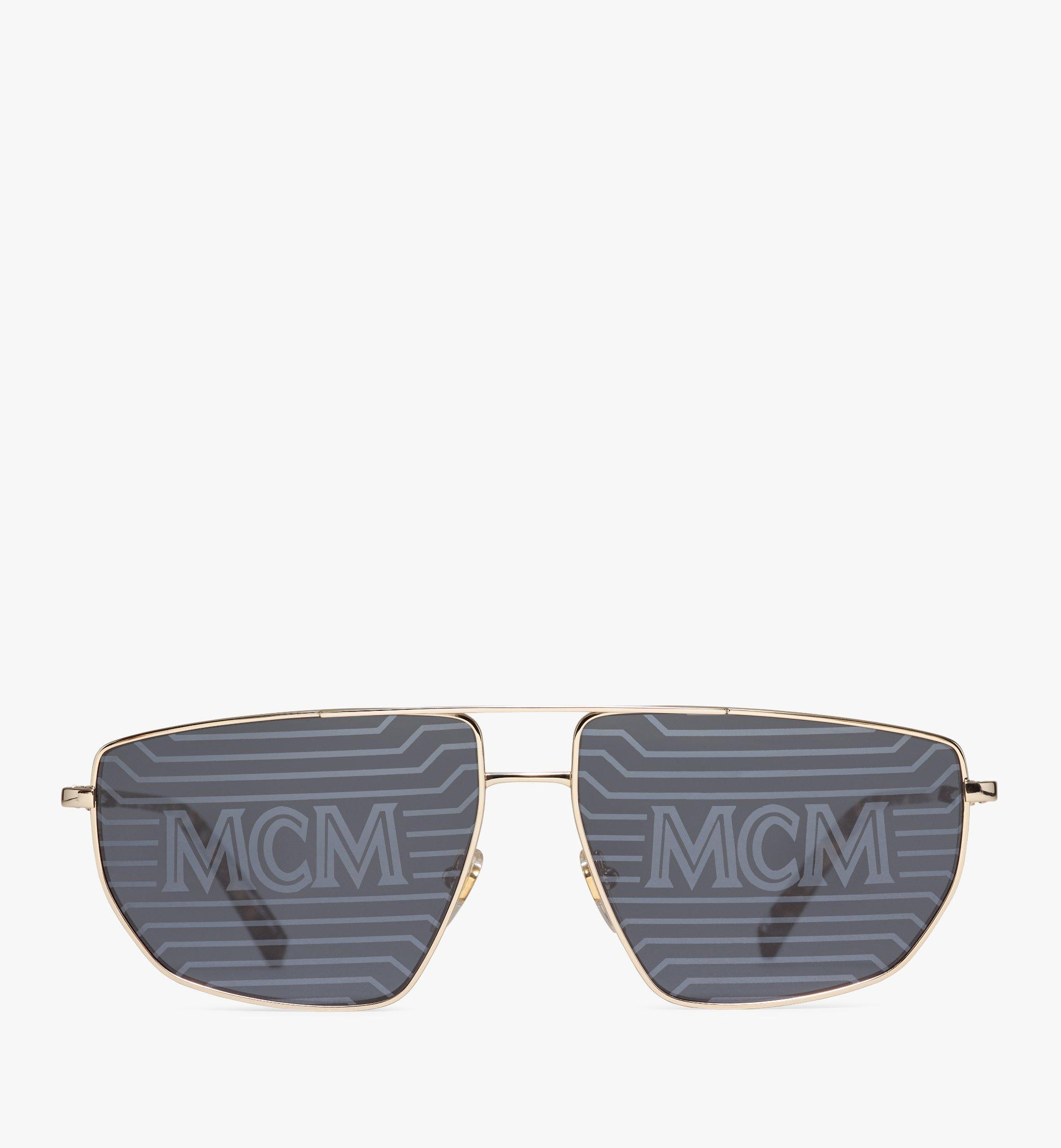 MCM Men's 151S Hologram Aviator Sunglasses  MEGAAMM11DG001 Alternate View 1