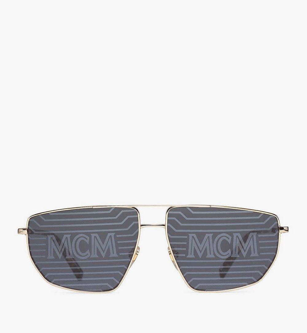 MCM 151S Hologram Aviator Sunglasses Gold MEGAAMM11DG001 Alternate View 1