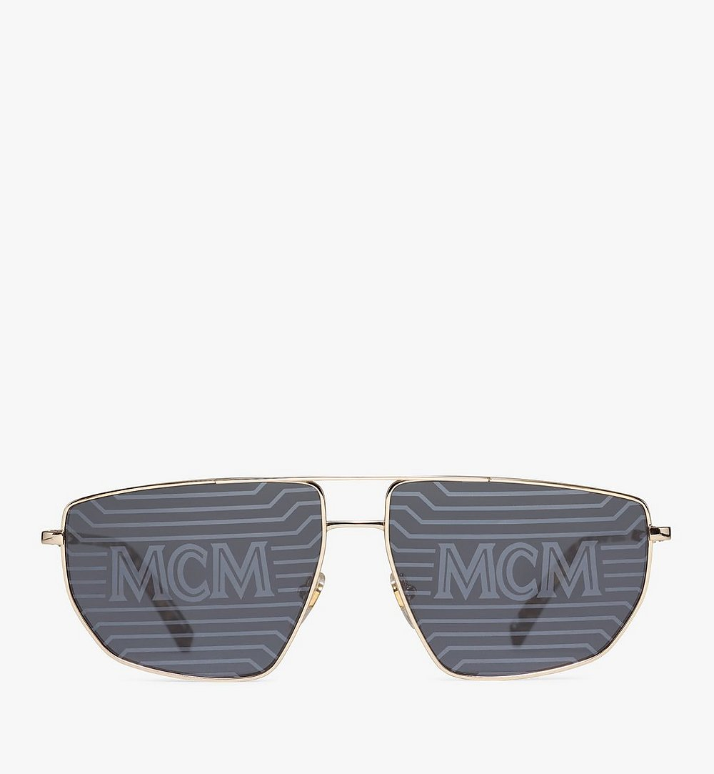 MCM 151S Hologram Pilotensonnenbrille Gold MEGAAMM11DG001 Noch mehr sehen 1