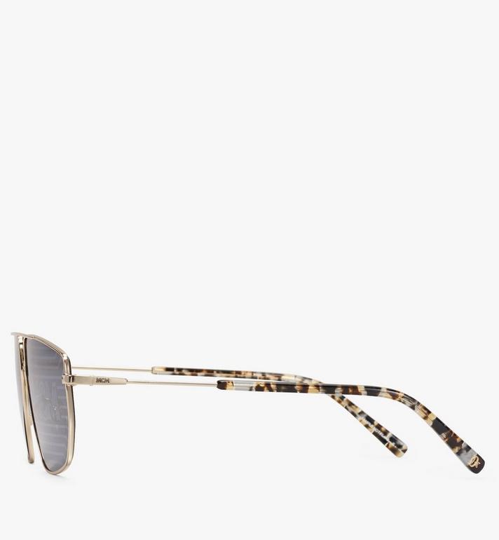 MCM 151S Hologram Aviator Sunglasses Gold MEGAAMM11DG001 Alternate View 2