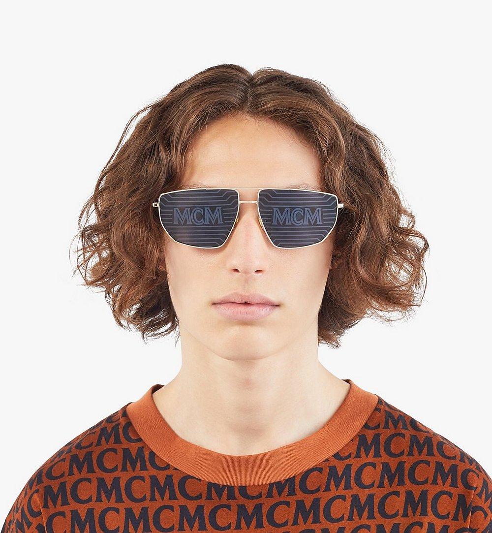 MCM 151S Hologram Pilotensonnenbrille Gold MEGAAMM11DG001 Noch mehr sehen 3
