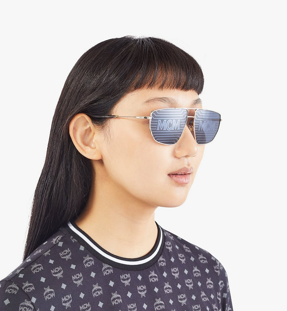 MCM 151S Hologram Pilotensonnenbrille Gold MEGAAMM11DG001 Noch mehr sehen 2