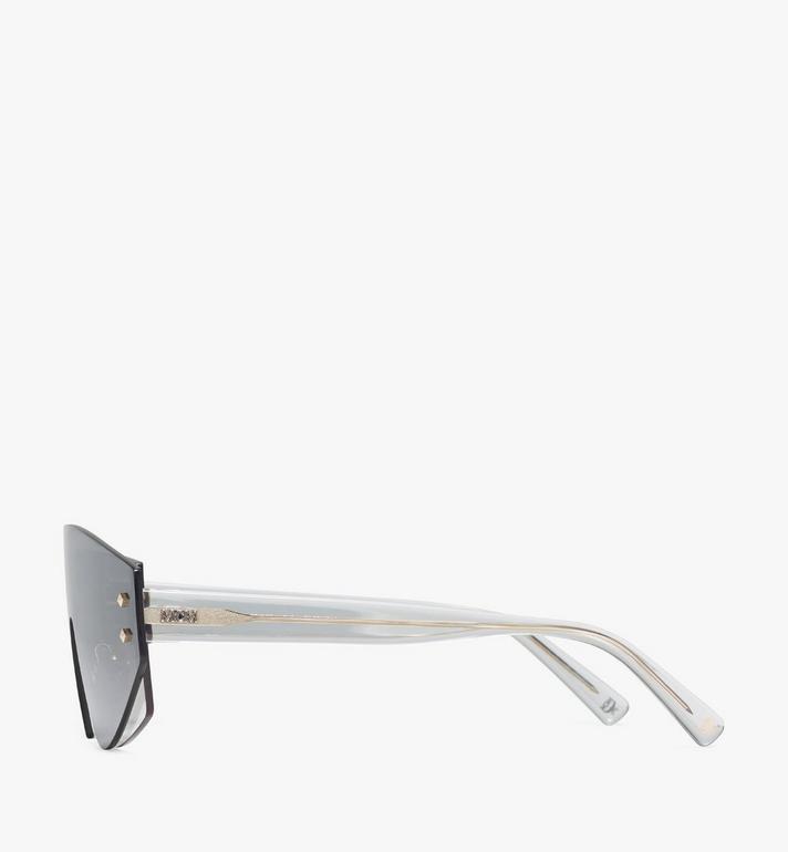 MCM 694S Shield Sunglasses Grey MEGASMM08EG001 Alternate View 2
