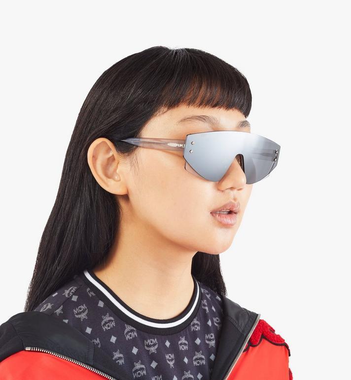 MCM 694S Shield Sunglasses Grey MEGASMM08EG001 Alternate View 5