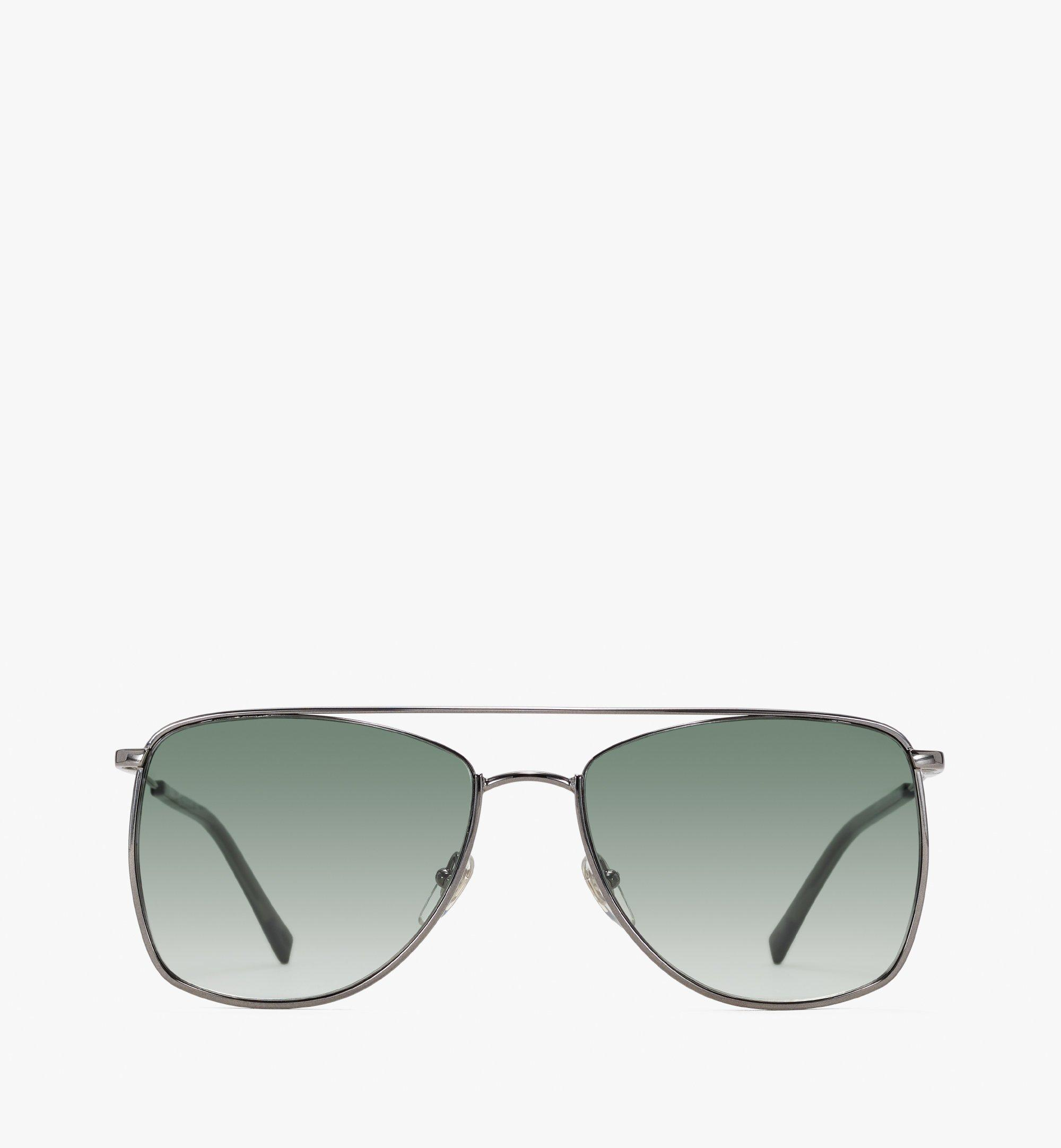 MCM 145S Aviator Sunglasses Green MEGASMM11GR001 Alternate View 1