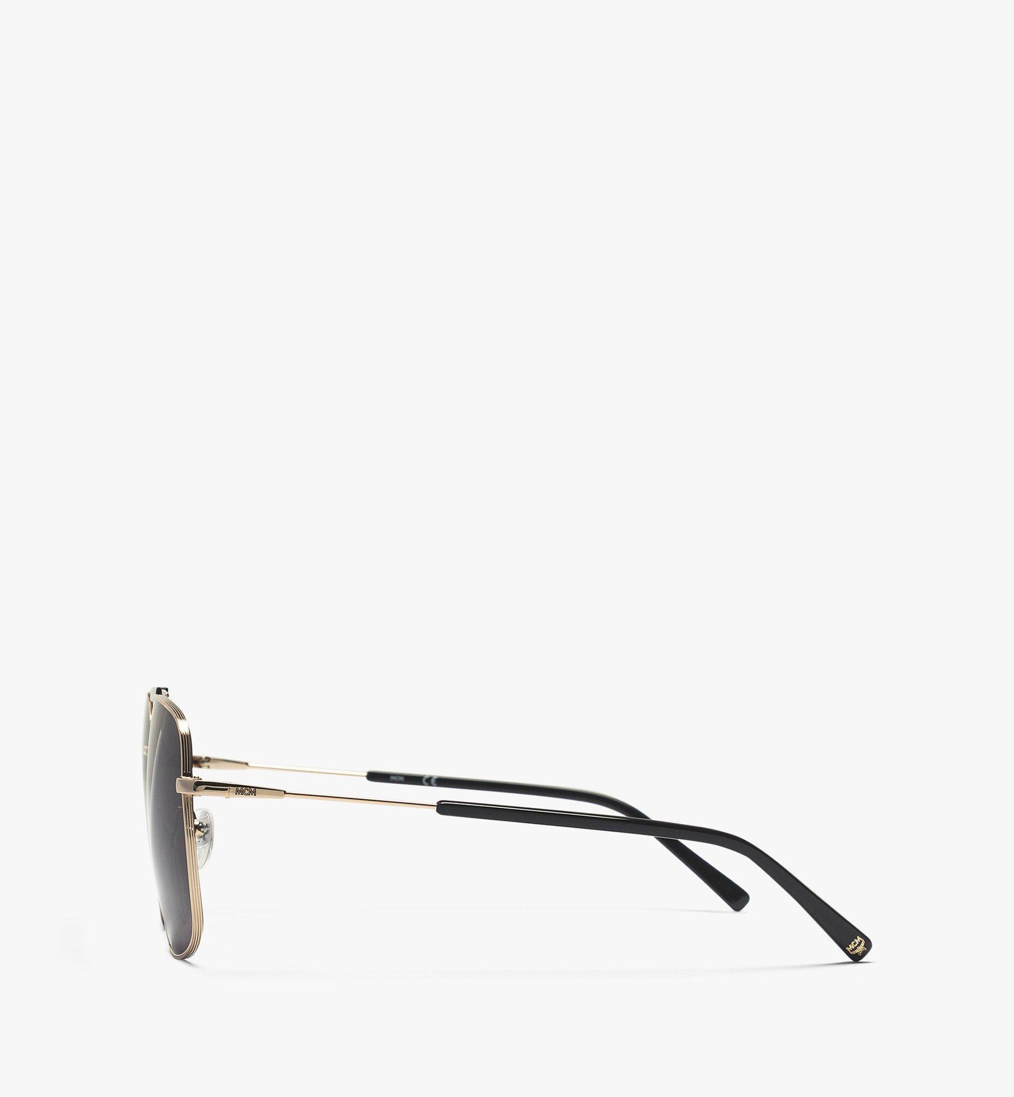 MCM MCM161S Navigator Sunglasses Gold MEGBAMM01DG001 Alternate View 1