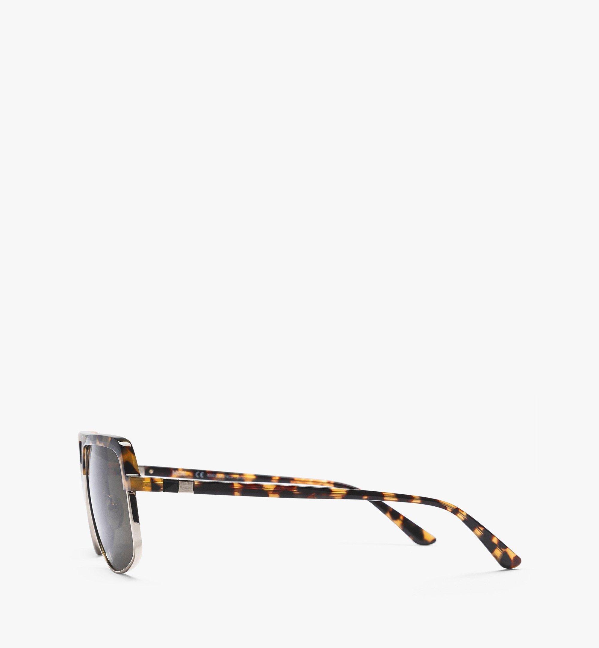 MCM MCM708S Navigator Sunglasses Brown MEGBAMM04NH001 Alternate View 1