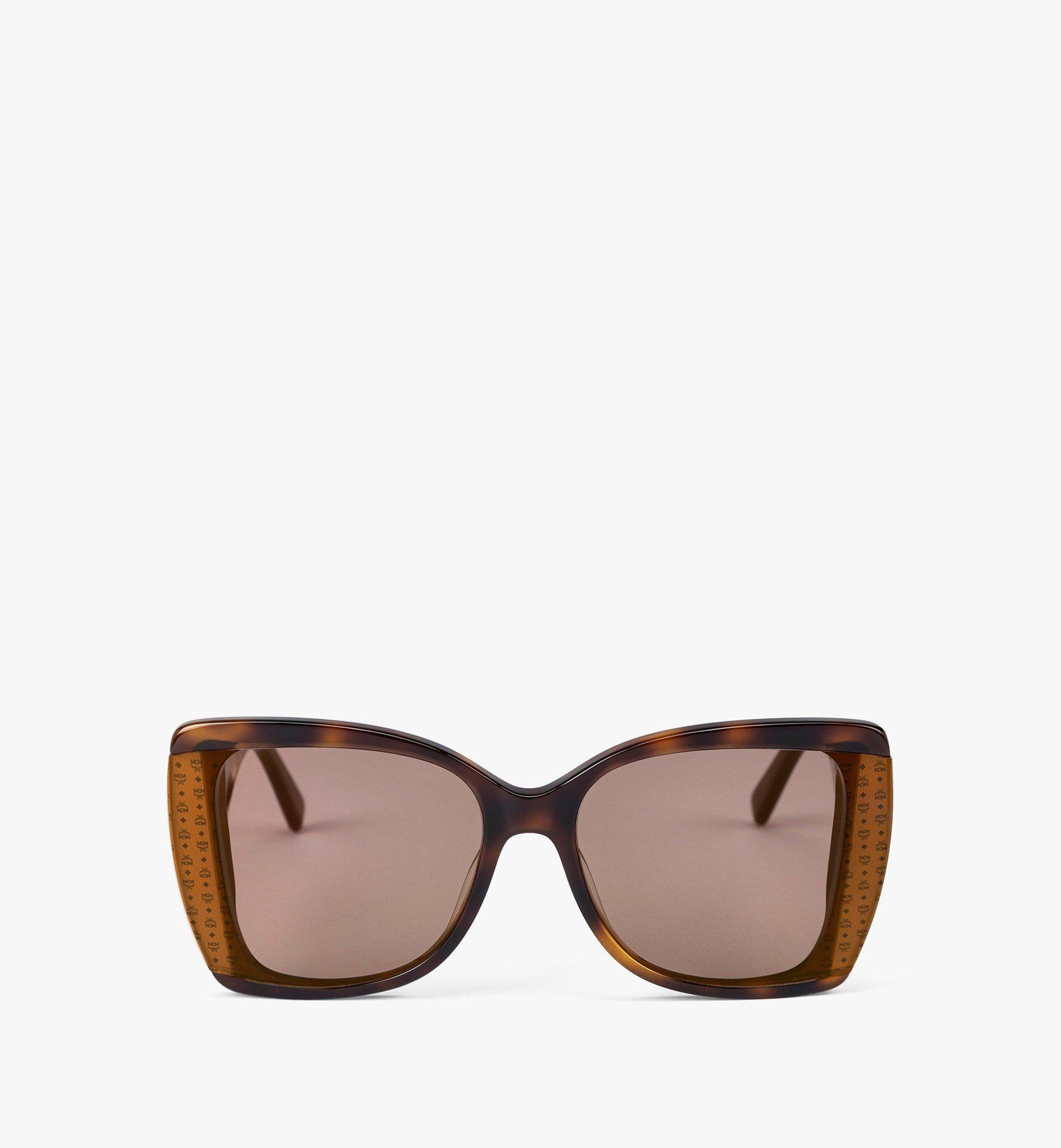 MCM MCM710S Butterfly Sunglasses Brown MEGBAMM06N3001 Alternate View 1