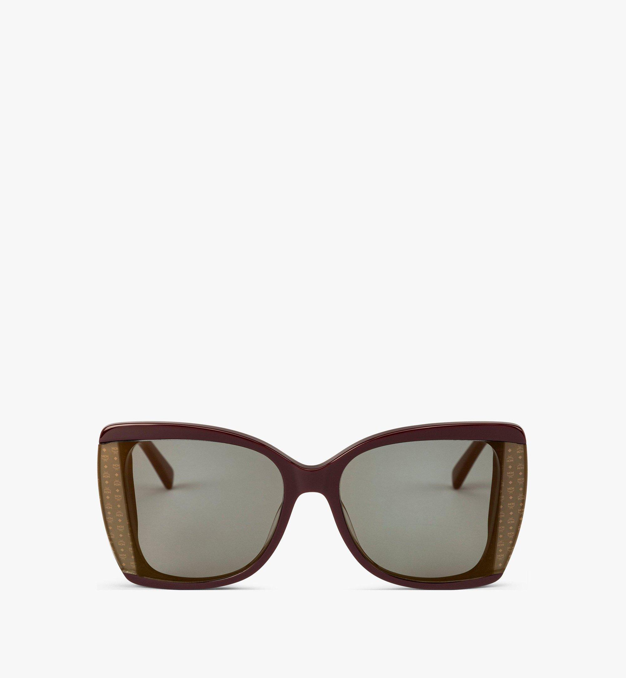 MCM MCM710S Butterfly Sunglasses Red MEGBAMM06RB001 Alternate View 1