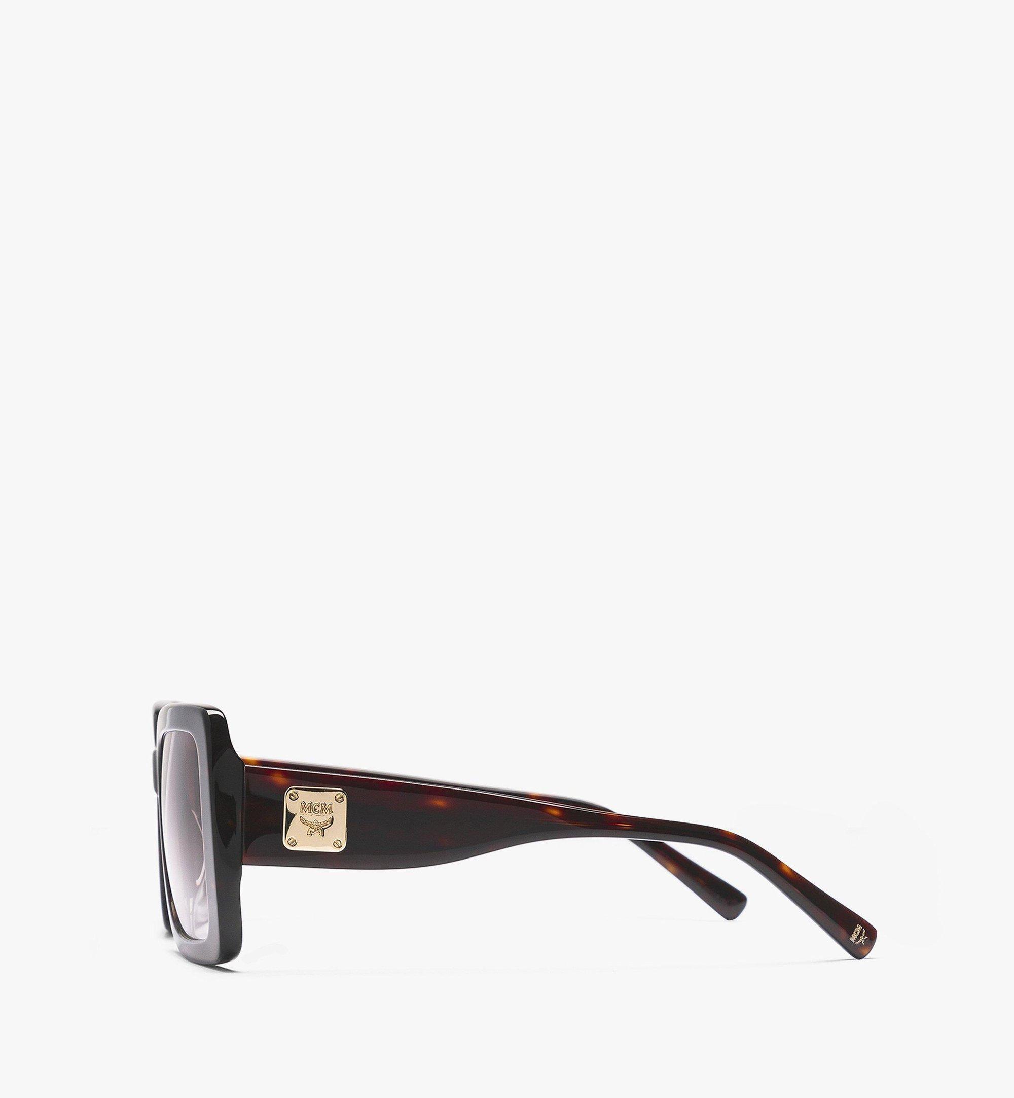 MCM Rechteckige MCM711S Sonnenbrille Brown MEGBAMM07NQ001 Noch mehr sehen 1