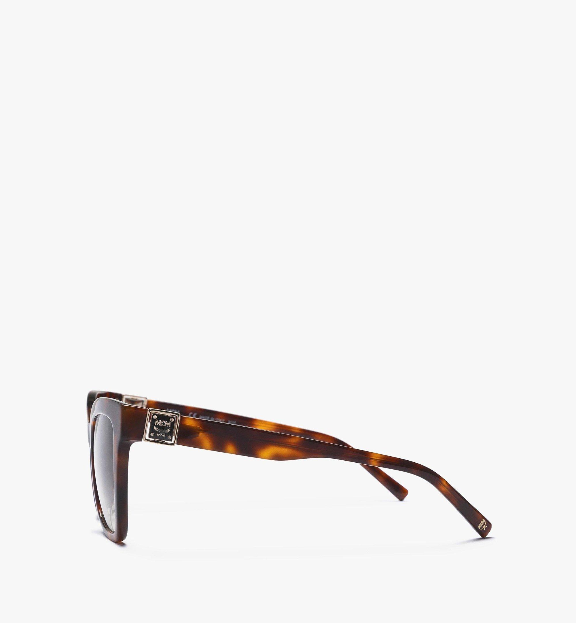 MCM MCM712S Butterfly Sunglasses Brown MEGBAMM08N3001 Alternate View 1
