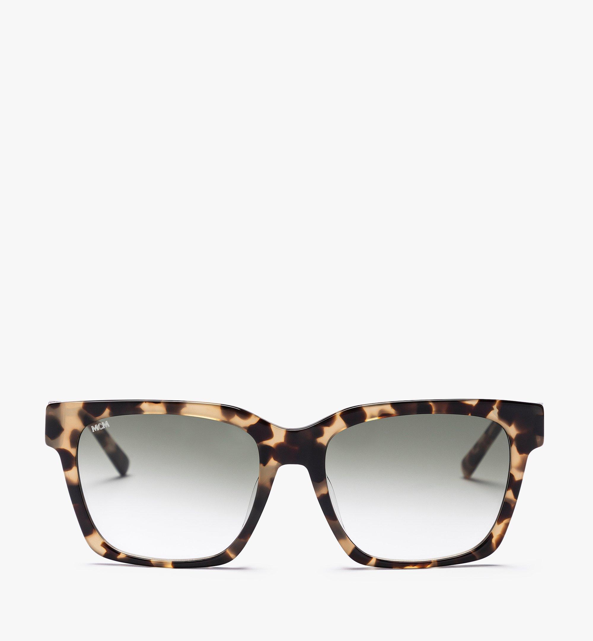 MCM MCM713SA Rectangular Sunglasses Brown MEGBAMM09NH001 Alternate View 1