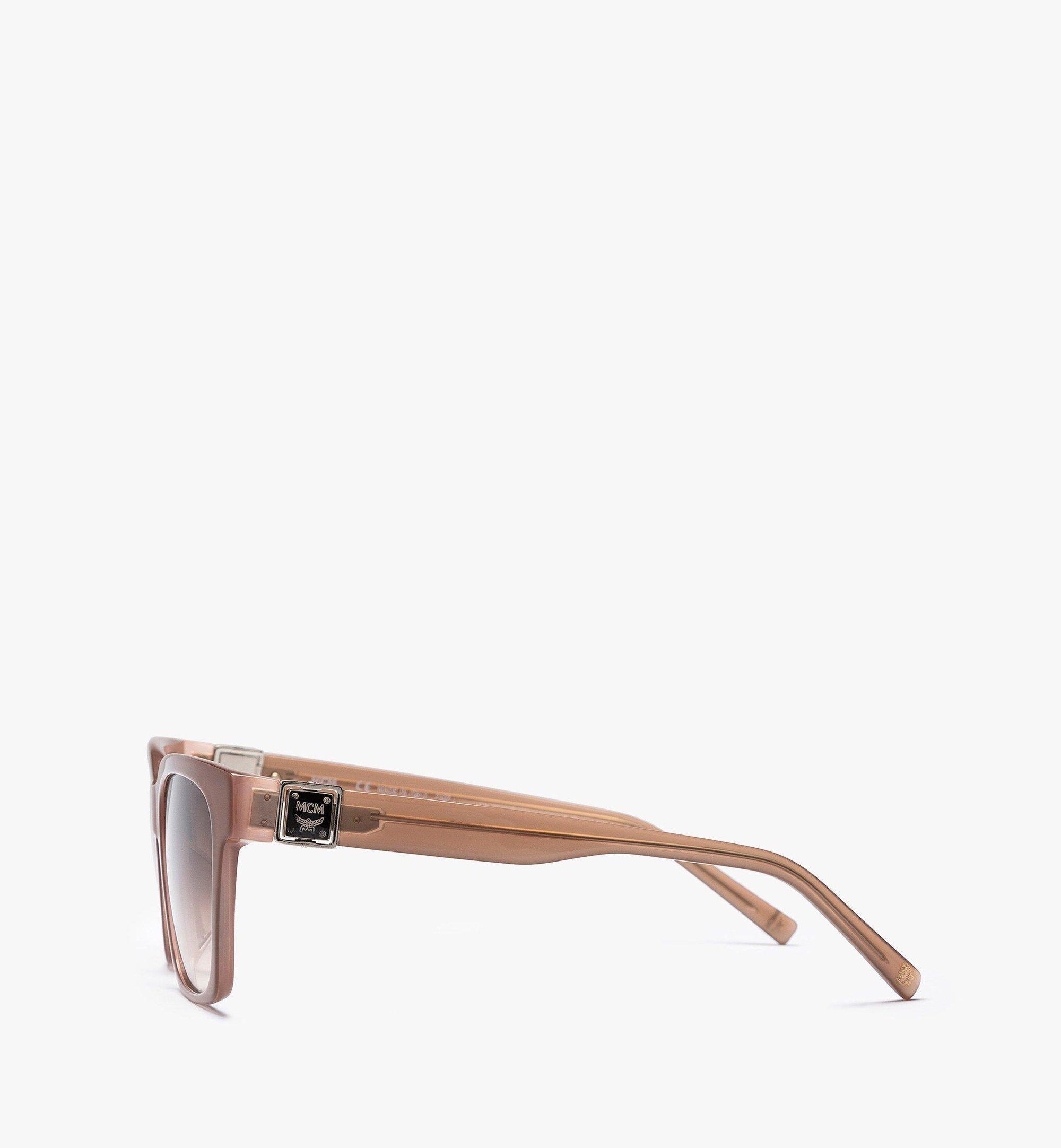 MCM MCM713SA Rectangular Sunglasses Pink MEGBAMM09QG001 Alternate View 1