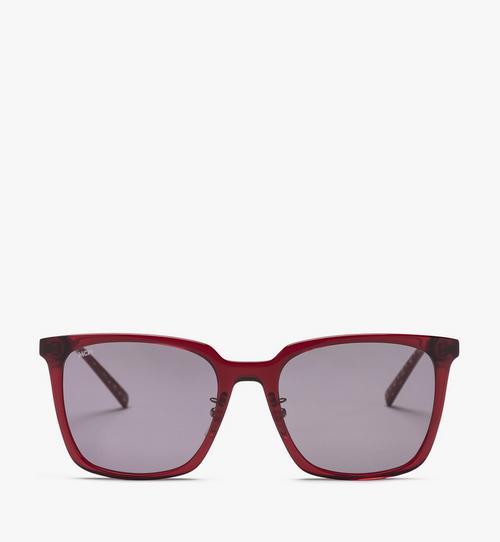 Rechteckige MCM714SA Sonnenbrille