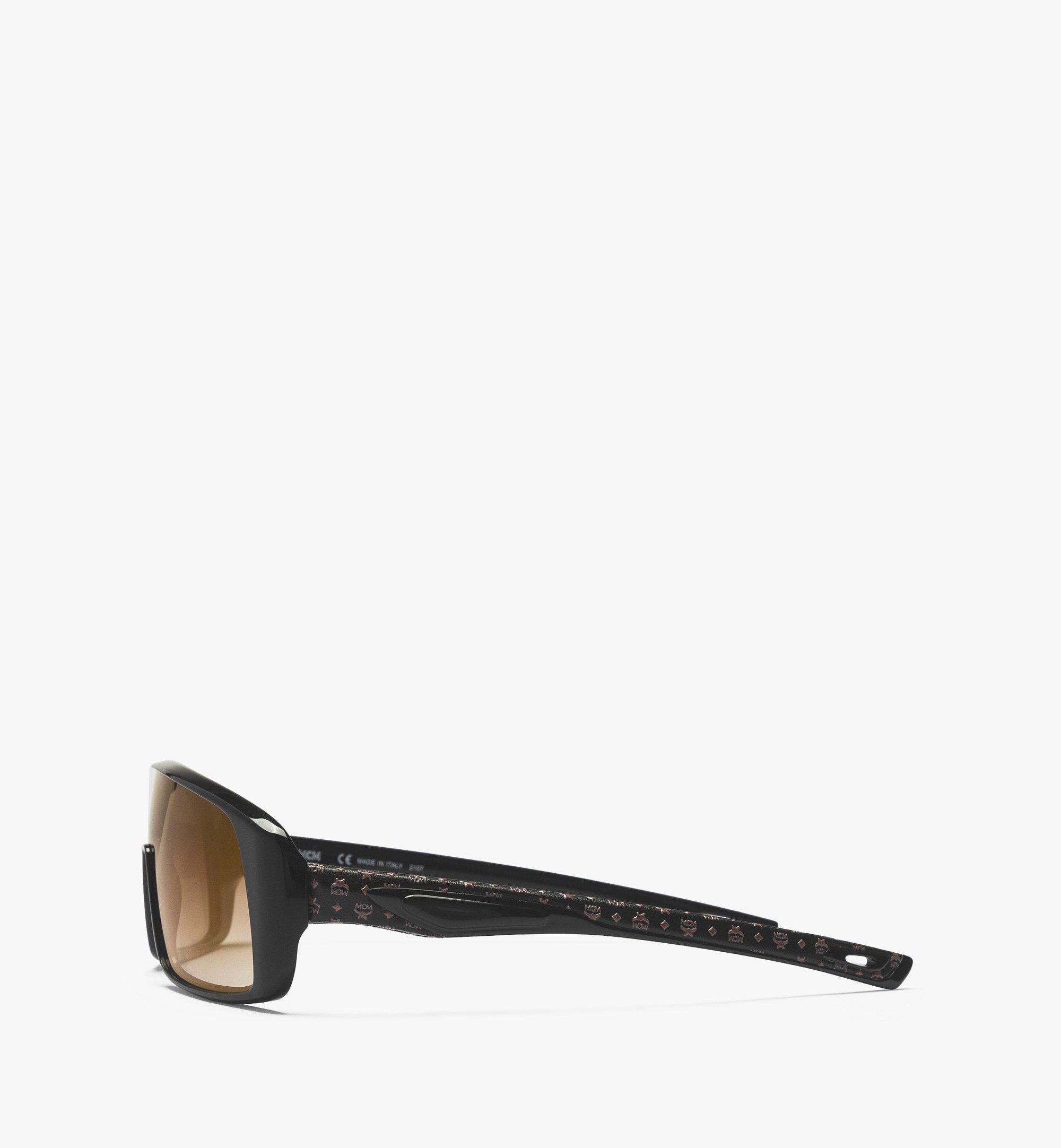 MCM MCM717SL Mask Sunglasses Black MEGBAMM11BK001 Alternate View 1