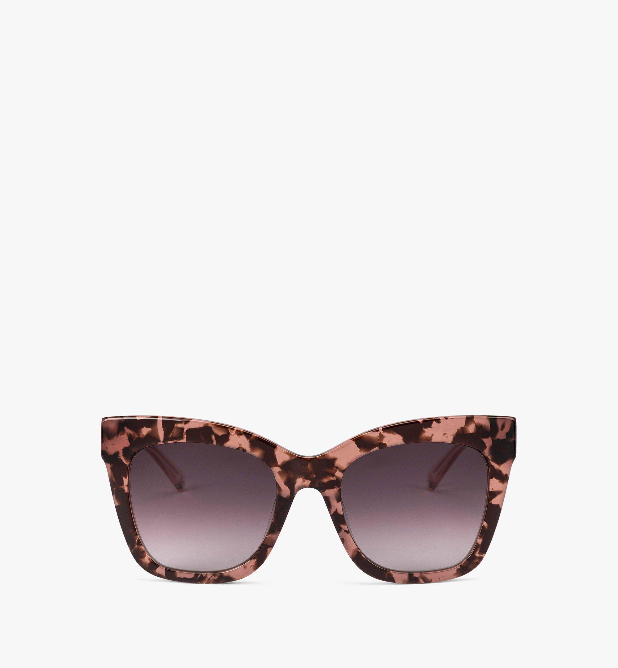 MCM MCM686SE Rectangular Sunglasses Pink MEGBAMM13PR001 Alternate View 1