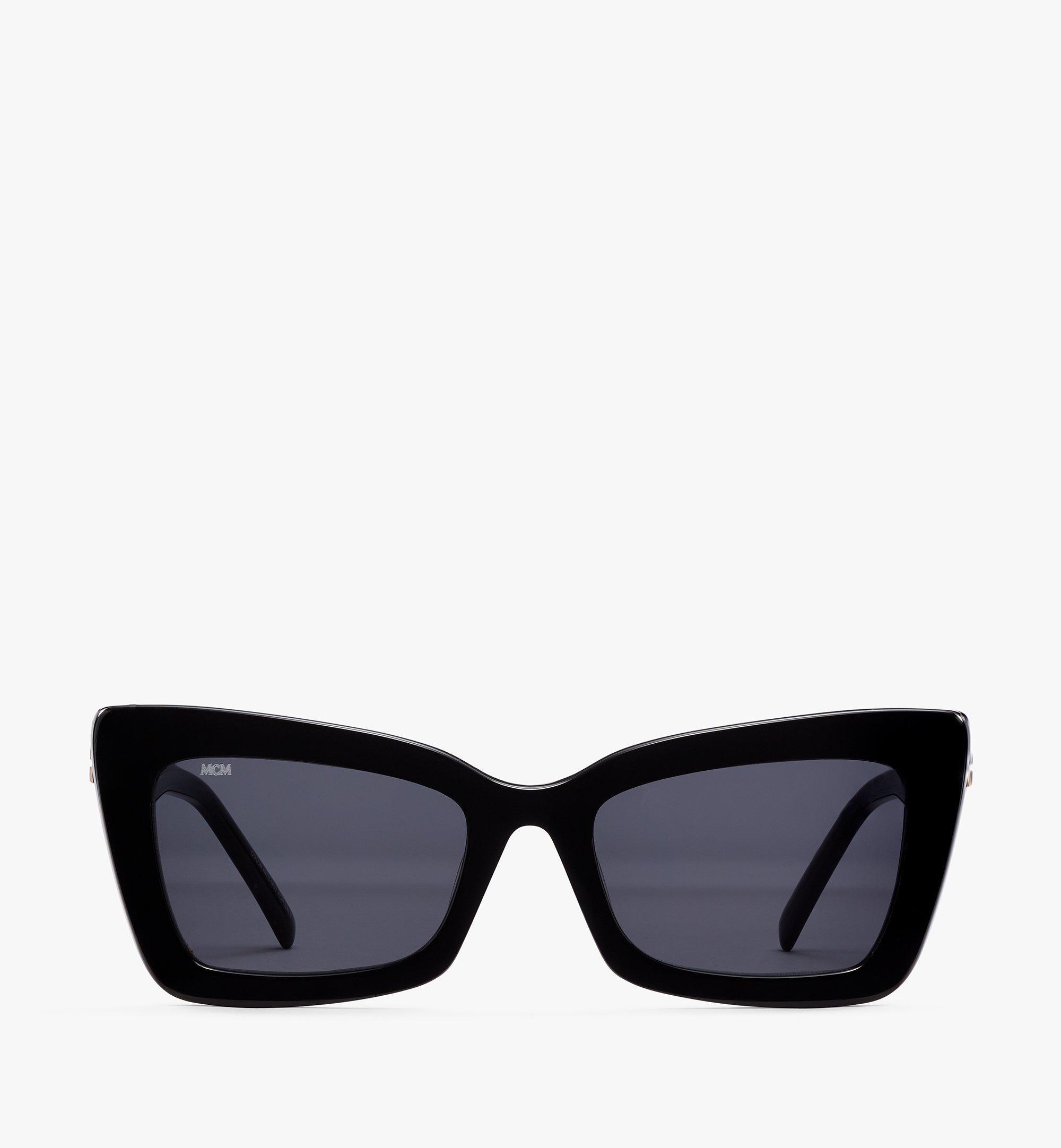 MCM 703S Rechteckige Sonnenbrille Black MEGBSMM20BK001 Noch mehr sehen 1