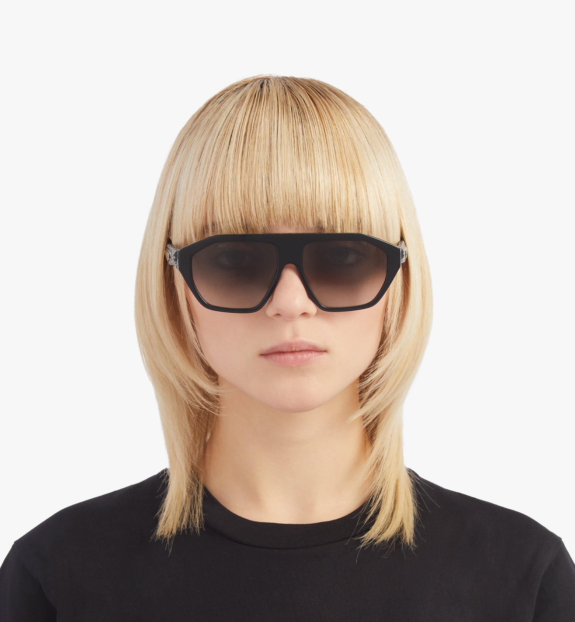 MCM 705SL Sunglasses Black MEGBSMM25BK001 Alternate View 2